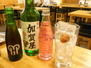 ニュー加賀屋 巣鴨店 - 加賀屋ボトル・ウーロン茶・バイス