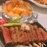 RESTAURANT BAR CHESS - 黒毛和牛ステーキ