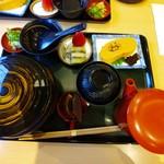 みしまや - ひつまぶしセット2700円(税込)
