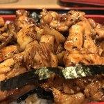 おが和 - 焼鳥丼(肉増し)