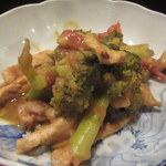 酣 - 豚肉とブロッコリのカレー煮