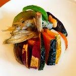 デル ペッシェ - 前菜のお野菜