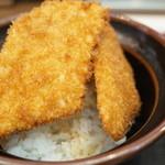 とんかつ政ちゃん - 三枚カツ丼(850円)