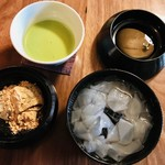 茶房 布久庵 - 布久セット(税込1,600円)