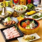 牛タンしゃぶしゃぶと和牛肉寿司 京町夢しずく -