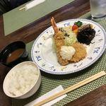 ちかさんの手料理 - 特選車エビフライとオホーツク海のホタテ貝フライ1580円