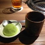 つかさ苑 - 抹茶アイス