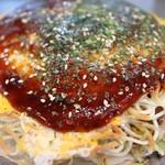 広島スタイル お好み焼 くじら - 料理写真:
