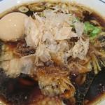 らーめん鱗 - 料理写真:味玉溜まり醤油ら~めん♪