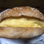 ドムドムハンバーガー - 厚焼き玉子バーガーです