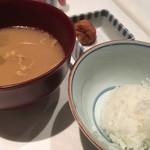 御堂筋 ロッヂ - ・ごはん+豚汁