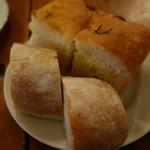 オステリア イマムラ - パン2種