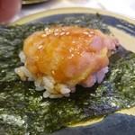 はま寿司 - トロタク巻き