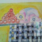 カフェ・チコ - 大川浩之さんの絵