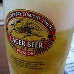 居酒屋 木曽 - 生ビール