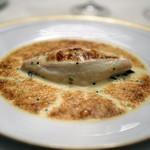 レストラン クレッセント - 舌平目と雲丹のボンヌ・ファム