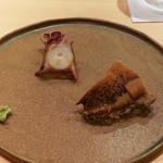鮨 さかい - 長崎式見のたこ、唐津のあわび