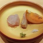 鮨 さかい - 糸島のひらめ、岡山平貝