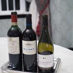 レストラン クレッセント - ワインは、左のラングドックが絶品