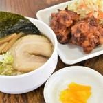 日本中華食堂 - ミニらーめんセット