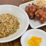 日本中華食堂 - ミニ炒飯セット