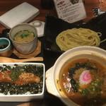 元祖博多めんたい重 - 飯麺吸いセット