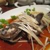大鴻運天天酒楼 - 料理写真:ソイの蒸し物 広東風ネギ醤油がけ