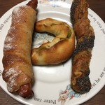 breadworks - この日の朝食。なかなか豪華です!