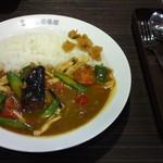 CoCo壱番屋 - 期間限定・チキンと夏野菜カレー