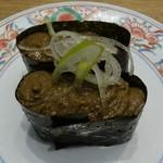 Mawarusushizammai - かにみそ2貫198円(税抜)