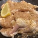 食道園 - 塩ホルモン〜♪( ´▽`)