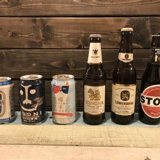クラフトビール多数ご用意してます!