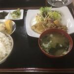 白頭山 - 生姜焼き定食