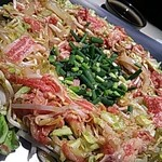 牛ちゃん - 炊き肉(ロース・カルビ・いか)