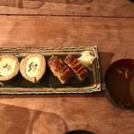 鶴亀樓 - 鰻寿司