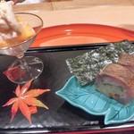 82846839 - しめ鯖のお寿司