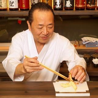 天ぷら一筋30年の職人がもっともこだわることとは