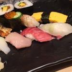 寿司居酒屋 雅 - 上握り定食