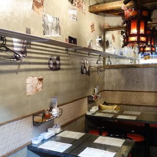 三茶で気軽に香港トリップ!現地スタイルにこだわった空間です♪