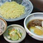 麦とろ - 料理写真:麦とろオリジナルつけ麺 手間ひまかけて作ったとろろ入り和風スープのつけ麺です