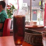 浅草カフェ ラグランドカリス - ランチのアイスコーヒー