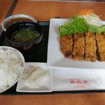 高森亭 - 料理写真:牛カツ(150g)ランチ1,000円