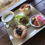 カフェ スケアクロウ - 料理写真:マフィンプレート