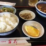82852893 - 麻婆豆腐定食