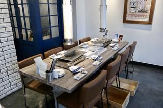 焼肉・冷麺 二郎 本店 - 今回の予約テーブル席