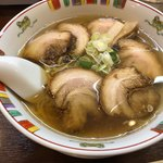 大文字 - 塩チャーシュー麺 950円