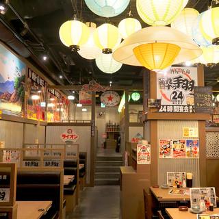 どこか懐かしい、活気に満ちた美食空間がここに!