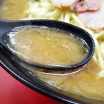 杉田家 - 2018年3月 スープ