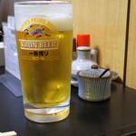 ずぼら - 2018年3月 生ビール