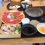 源氏総本店 - ズワイガニの量、牛肉の質、o(^_^)o       1880円でした。